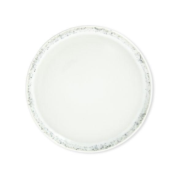 Assiette dessert blanche en grès 20cm