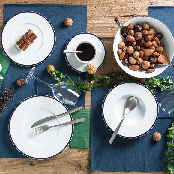 assiette dessert en porcelaine 23cm assiette design. Black Bedroom Furniture Sets. Home Design Ideas