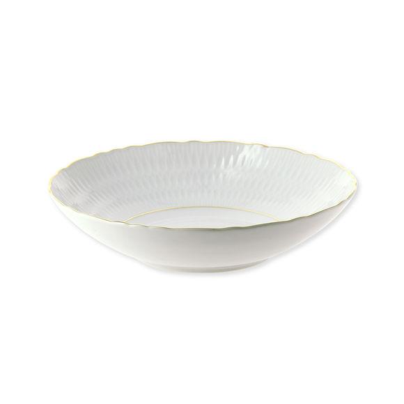 Assiette creuse en porcelaine 21cm