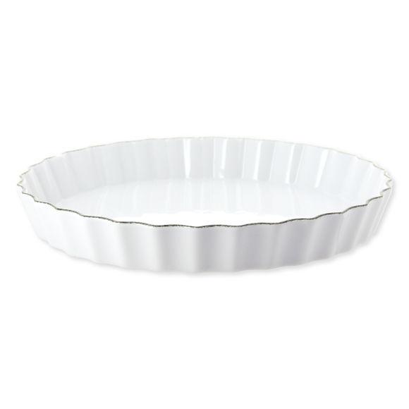 Moule à tarte en porcelaine 30cm