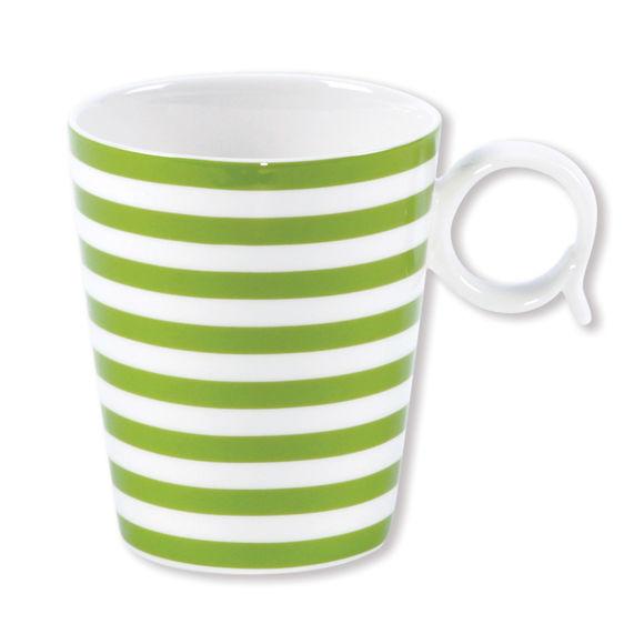 Mug vert anis en porcelaine 32cl