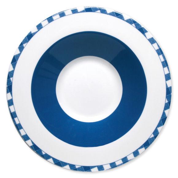 Assiette creuse en porcelaine 24cm