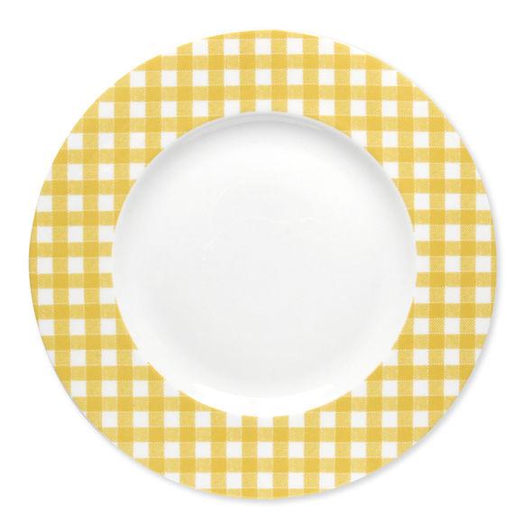 Assiette plate en porcelaine 29cm