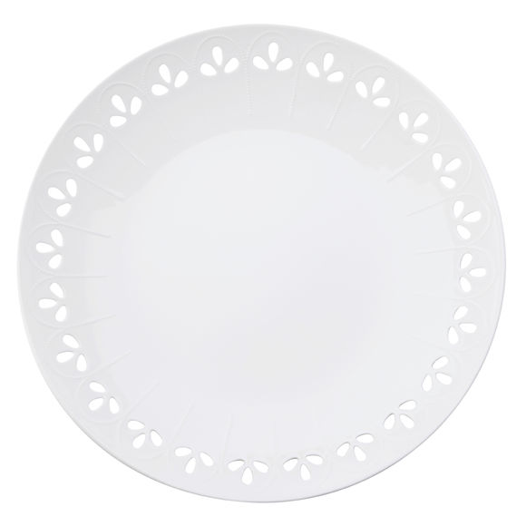 Plat de service en porcelaine 31cm