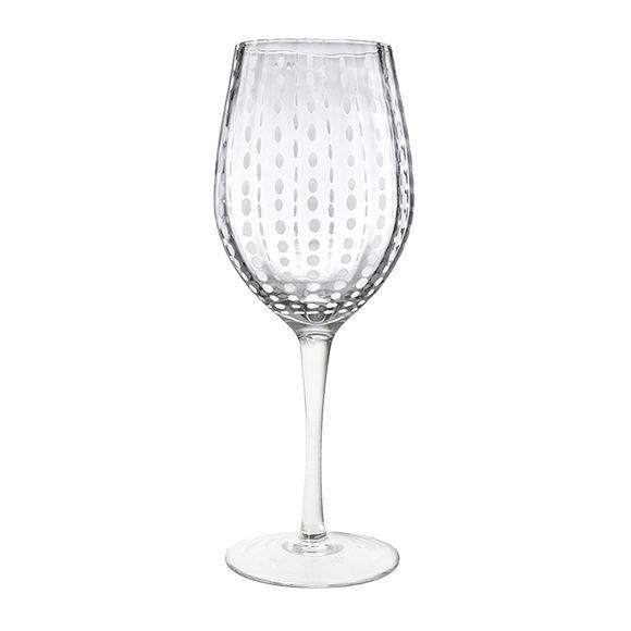 Verre à vin en verre soufflé bouche 40cl