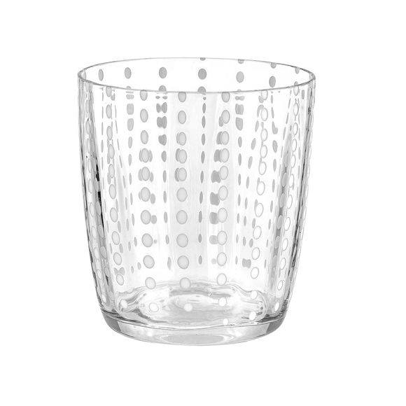 Gobelet bas en verre soufflé bouche 35cl