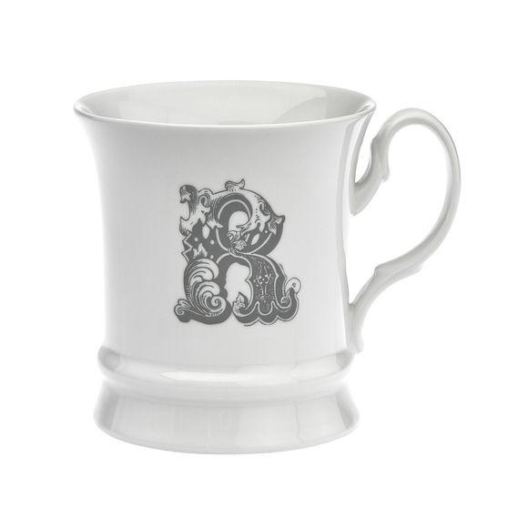 Mug en porcelaine 30cl - Lettre R