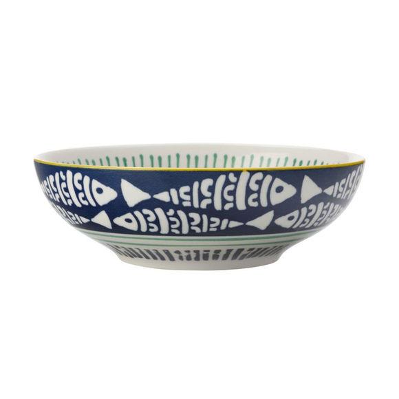 Assiette creuse en porcelaine 18cm