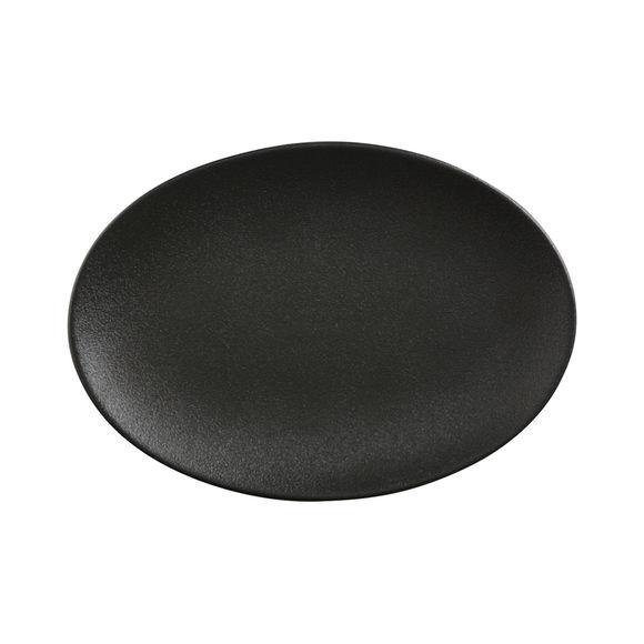 Plat ovale en porcelaine 25x16cm