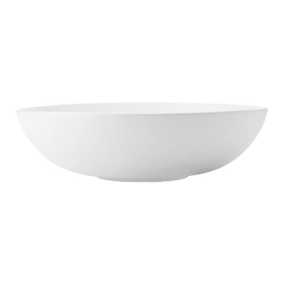 Plat ovale creux en porcelaine 30x20cm