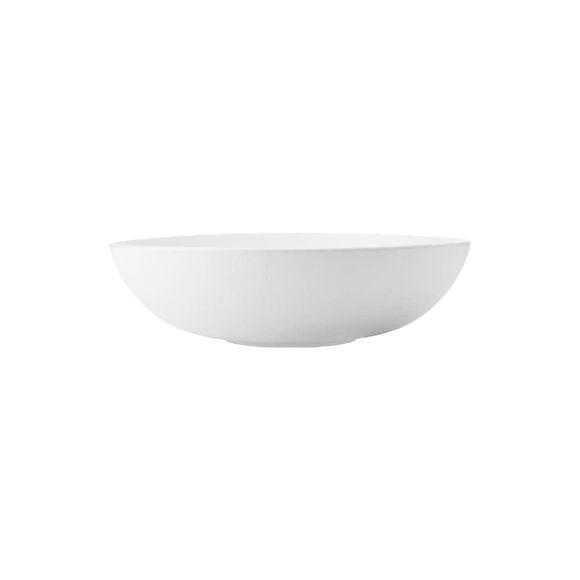 Plat ovale creux en porcelaine 20x14cm