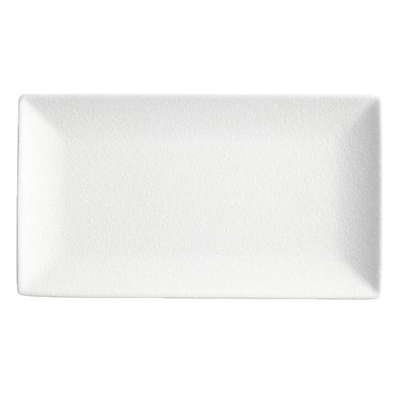Plat rectangulaire en porcelaine 34,5x19cm