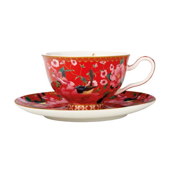 Paire-tasse thé en porcelaine 20cl