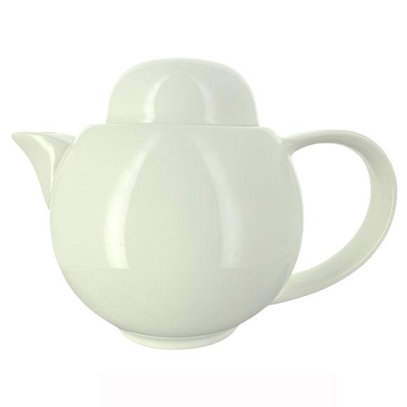 Théière en porcelaine + filtre inox 75cl