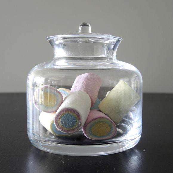 bonbonni re design en verre transparent souffl bouche bruno evrard. Black Bedroom Furniture Sets. Home Design Ideas