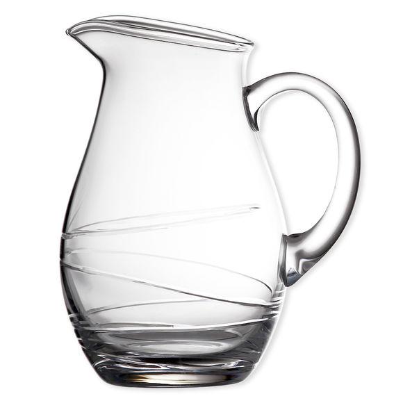 Carafe à eau en verre soufflé bouche 1,3L