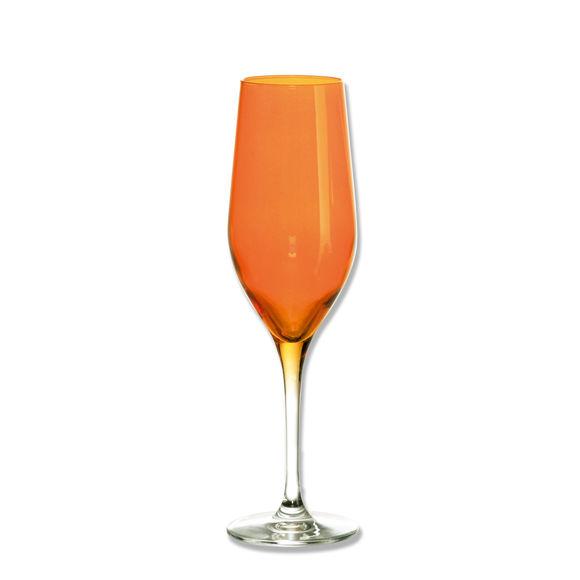 Flûte à champagne orange 26cl