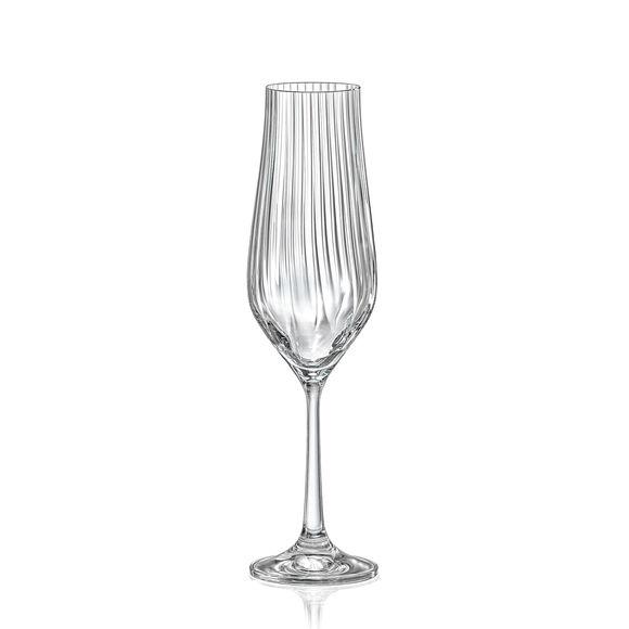 Flûte à champagne optique 17cl