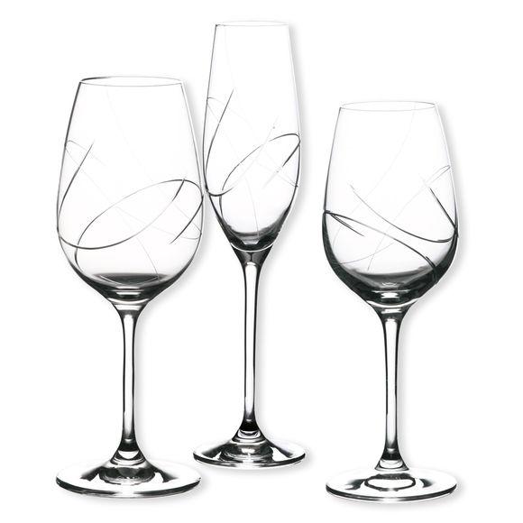 Verre A Vin Moderne verre à vin gravé au design moderne - collection enjoy - bruno evrard
