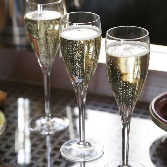 Fl te champagne chic pour mariage 14cl bruno evrard - Flutes a champagne originales ...