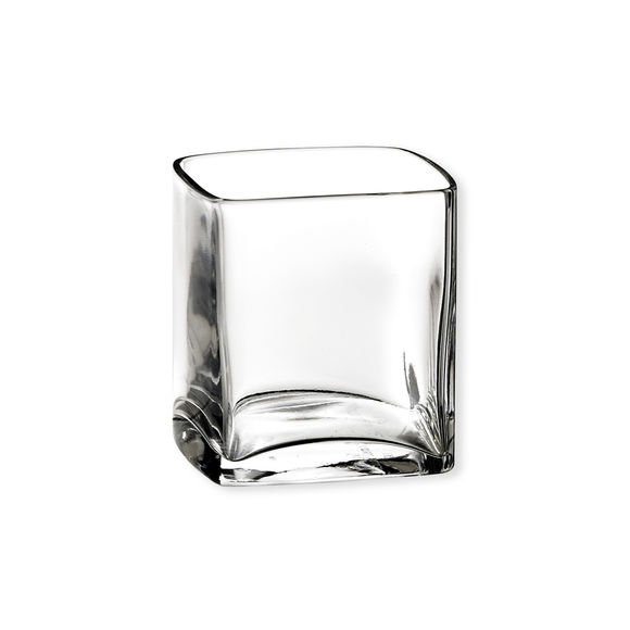 Verrine forme cube 14cl - Lot de 6