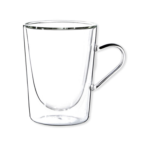 Tasse à café en verre 30cl - Lot de 2