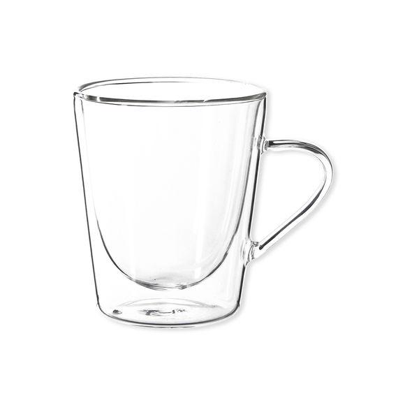 Tasse à café en verre 22cl - Lot de 2