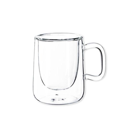 Tasse à café en verre 9cl - Lot de 2