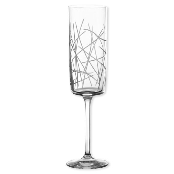 Flûte à champagne en cristal 25cl