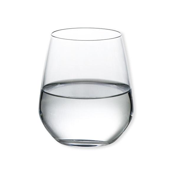 verre eau original gobelet transparent en verre. Black Bedroom Furniture Sets. Home Design Ideas