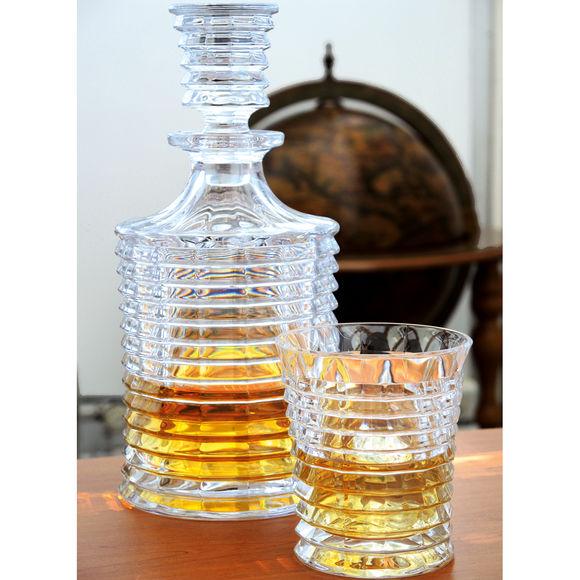 carafe whisky vintage en cristal verrerie chic bruno evrard. Black Bedroom Furniture Sets. Home Design Ideas