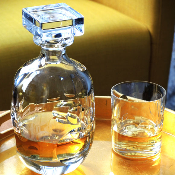 Verre whisky en cristal taill 32cl verres design - Verre a whisky cristal ...