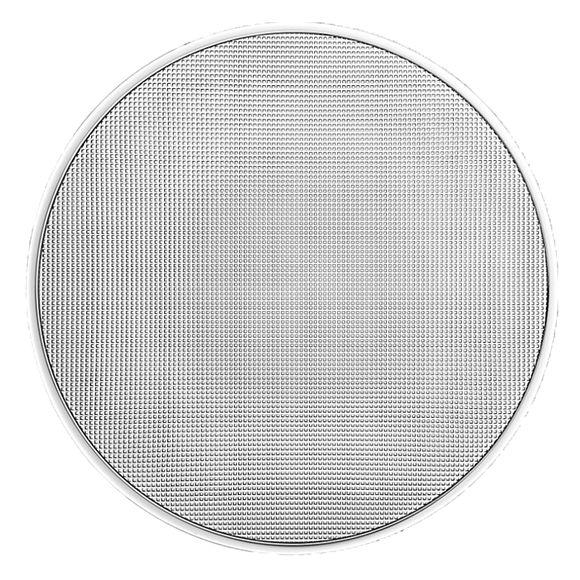 Plat plat en verre 33cm