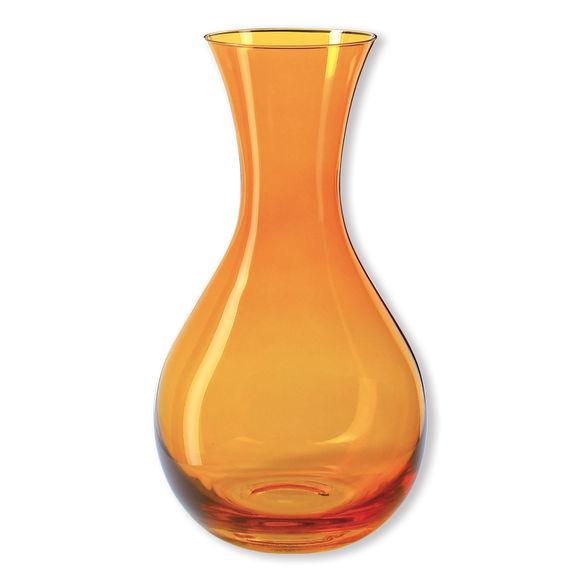 Carafe à jus de fruits en verre jaune 1,2L
