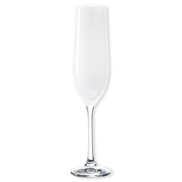 Flûte à champagne en verre blanc 19cl