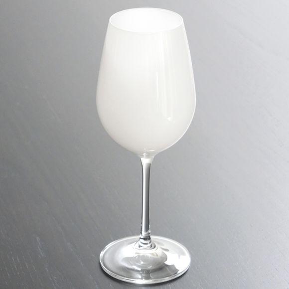 verre vin color blanc verrerie chic et tendance bruno evrard. Black Bedroom Furniture Sets. Home Design Ideas