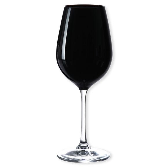 Verre à vin en verre noir 35cl
