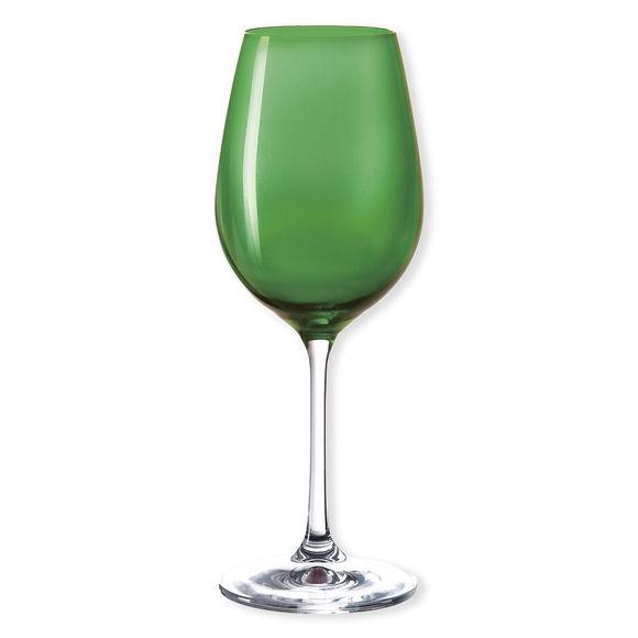 Verre à vin en verre vert foncé 35cl