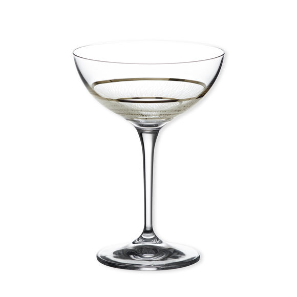 Coupe à champagne filet platine 20cl