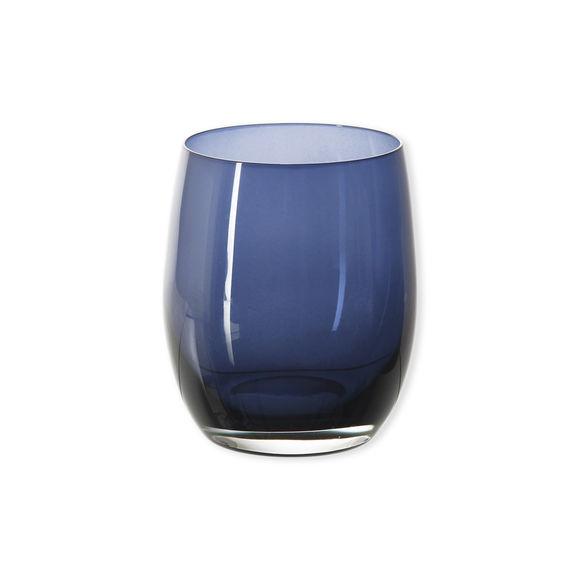 Gobelet bas en verre bleu marine 33cl
