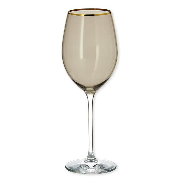 Verre à vin en verre fumé 38cl