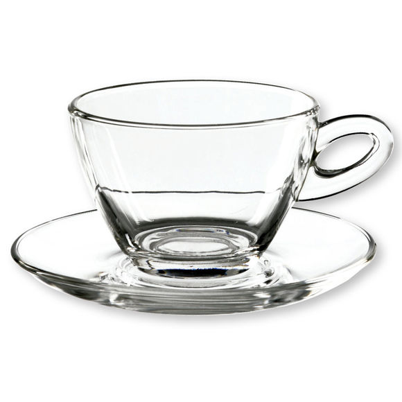 Tasse à cappucino en verre 30cl