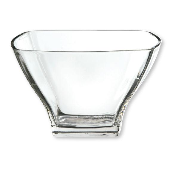 Saladier en verre 21x21cm