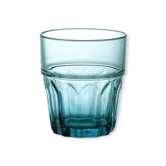 Verre à eau bleu 26cl