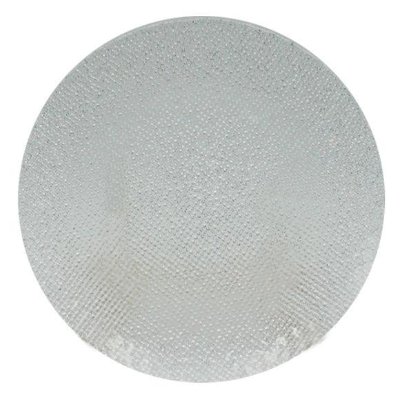 Assiette plate en verre 28cm