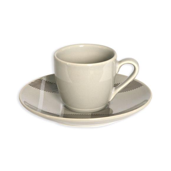 Tasse à thé en grès ficelle 19cl