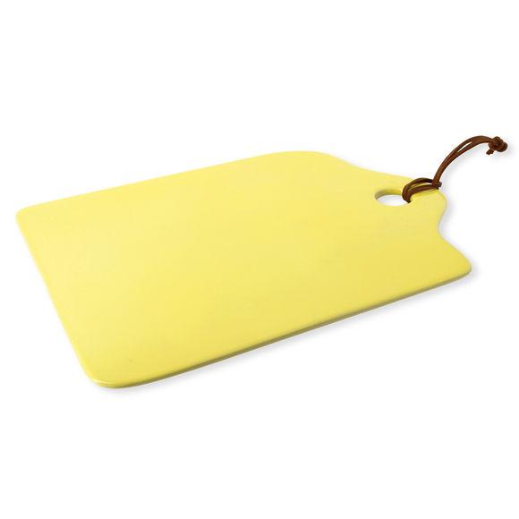 Planche à découper en grès jaune 34x23cm
