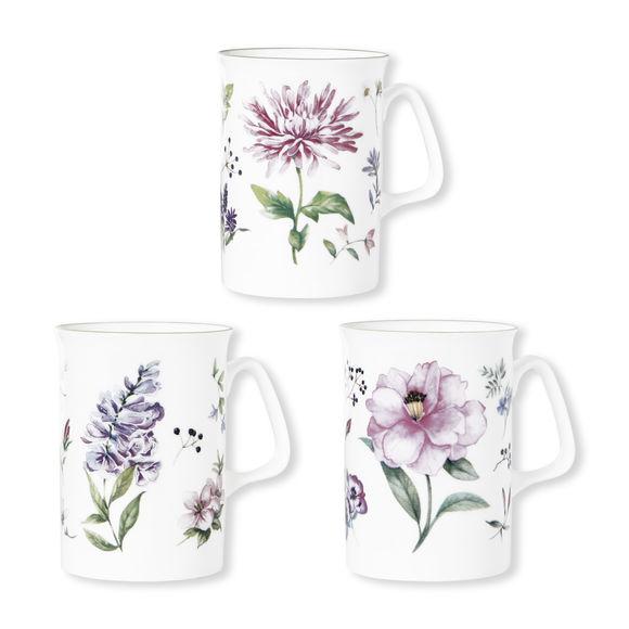 Mugs en porcelaine fine 27cl - Coffret de 6