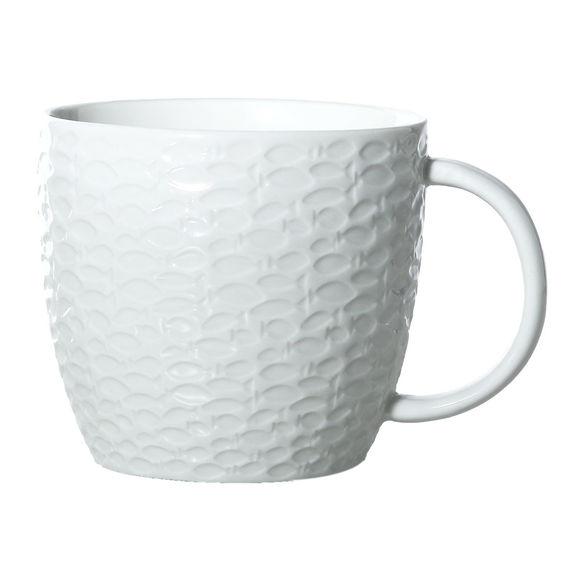 Mug blanc en porcelaine 30cl