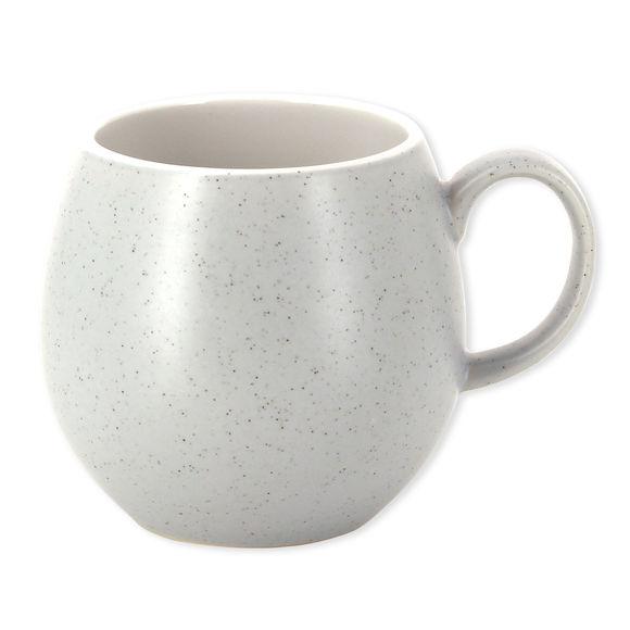 Mug gris moucheté en faïence 25cl